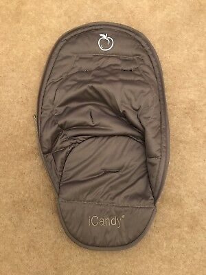 I Candy Peach Jogger Glacier Seat Liner With Zip