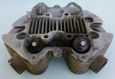to 1968 TRIUMPH MOTORCYCLE ALLOY HEMI 500cc CYLINDER HEAD TIGER 100 T100C T100