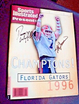 Rare! Vintage AUTOGRAPHED BY STEVE SPURRIER AND DANNY WUERFFEL!!!