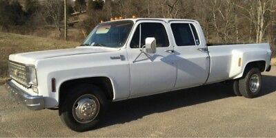 1976 Chevrolet Silverado 3500  1976 Chevrolet Pickup Scottsdale C30 Dually 454 Cr