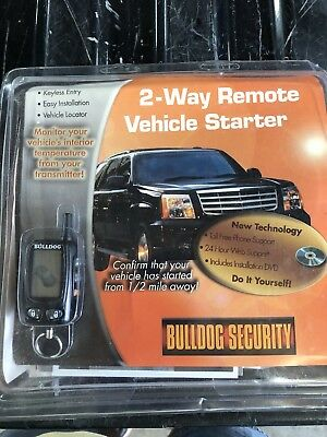 Bulldog Security Deluxe 500 2-way Remote Vehicle Starter