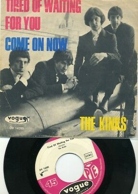 """""""7 - The  KINKS  -  Tired of waiting for you -  Beat - Deutsche voque"""