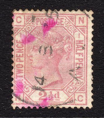 SG139   2½d Rosy Mauve Plate 1 - Wmk Sm Anchor - Good to Fine Used (N-C) Cat£120