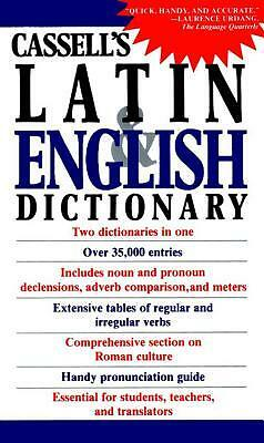 Cassell's Concise Latin and English Dictionary by Simpson, D. P. -Paperback