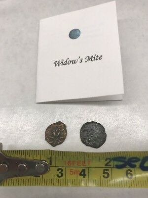 Widow's  Mite Coin Lot Of 2