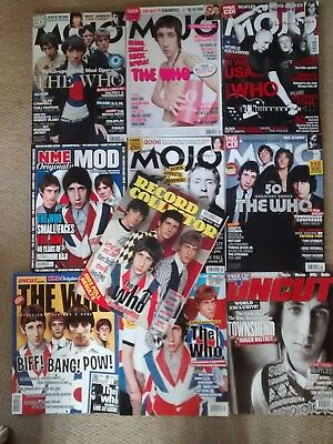 The Who magazines collectables