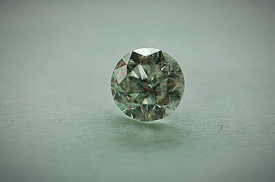 Lose natürliche(clarity enhanced) Diamant Rund 1.11 (2x0.555) ct P3/H