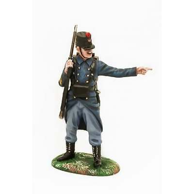 Empire Miniatures 1:32 W1-1404 WW1 Belgian 10th Line Infantry NCO Directing