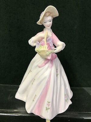 """ROYAL WORCESTER  FIGURINES """"Sarah"""" By F Doughty"""