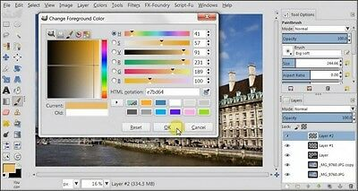 Image / Photo Editing Software suite - Photoshop CS6 CS5 Alternative Free p&p