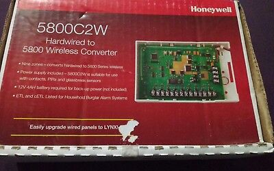 Honeywell 5800C2W Hardwired to 5800 Wireless Converter