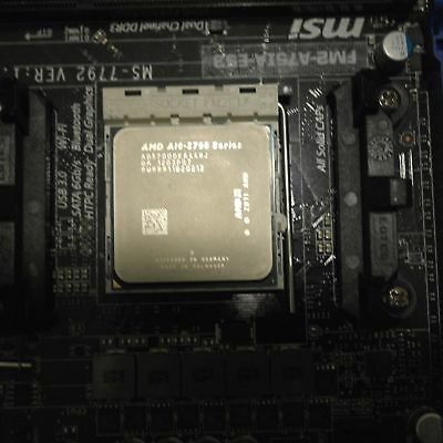 AMD A10-5700 CPU - 3.4GHz Quad Core Processor with Integrated AMD Radeon HD7660D
