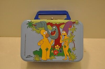 "RARE 1998 The SIMPSONS ""MINI LUNCHBOX"" from SPAIN"