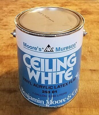 Diversion Safe Benjamin Moore Muresco Ceiling White Gallon Paint Can Hide Stuff!