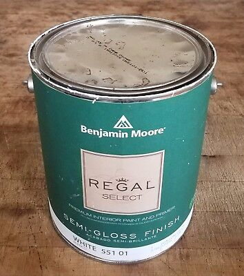 Diversion Safe Benjamin Moore Regal Select Semi Gloss White Gallon Paint Can