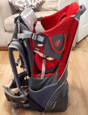 littlelife cross country s2 baby carrier with sun canopy