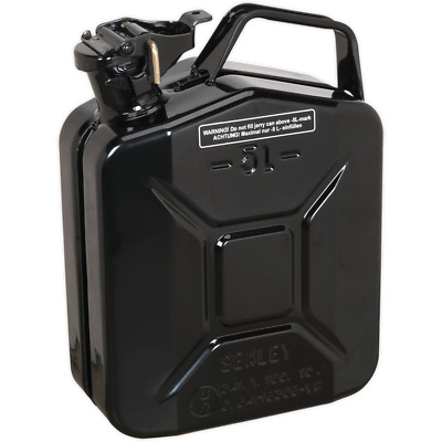 Sealey Metal Jerry Can 5l Black
