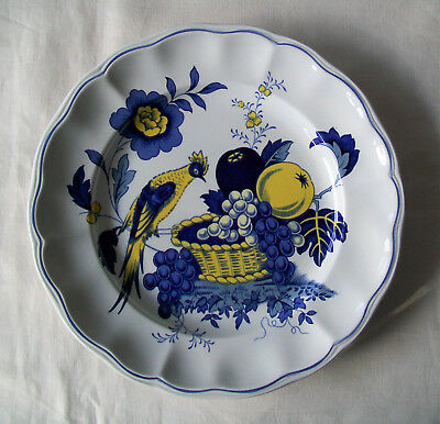 """SPODE BLUE BIRD Pattern 8½"""" PLATE Lovely Condition - Pattern Number S3274"""