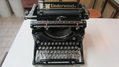 1928, Underwood No. 5 Typewriter, Works Great & Fantastic Cosmetic Condition!