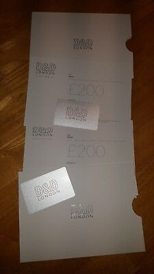 D&D Gift Card £200 / Can be used at D&D Restaurants / Food Stores / D&D Hotel