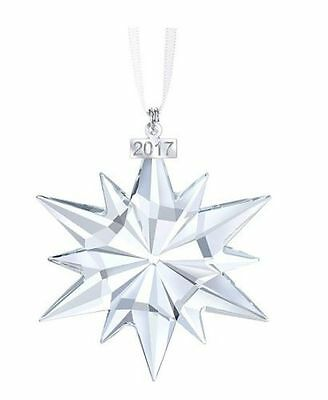 Swarovski 2017 annual Christmas Ornament 5257589 New in Original Box