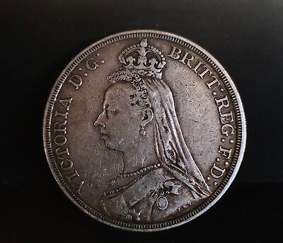 1887 Queen Victoria Crown F