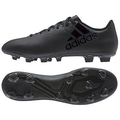 c9f0fd0a46d1d5 NEW ADIDAS MEN S X 17.4 FG Black Soccer Cleats Various Sizes BY2293 ...