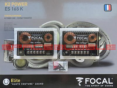 100% NEW FOCAL K2 POWER ELITE ES 165K Crossover XO 2 way SQ Hi End Audiophile