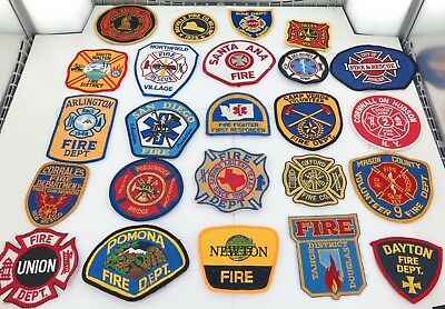 Superb Job Lot Usa / American Police, Emergency Services Cloth Patches. #8