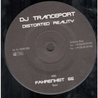 "DJ TRANCEPORT Distorted Reality 12"" MAXI VINYL German Soundwave Music 3 Track"