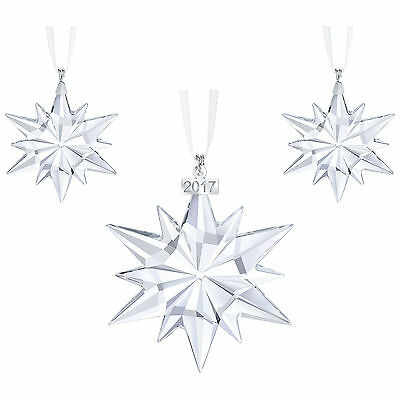 Swarovski Annual Christmas 2017 Ornament SET # 5268822