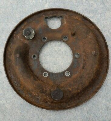 "Land Rover Series 2/3 SWB, 88"" Brake back plate, Right hand side, axle"