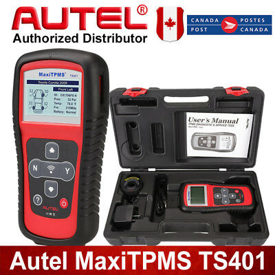 Autel TS401 Diagnostic Scanner TPMS Reset Tire Sensor Reader For GM Chrysler