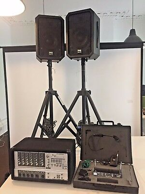 Complete PA Sound system