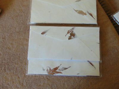 Gorgeous Vintage Envelopes Hanji Mulberry Paper 1970s Exquisite Quality