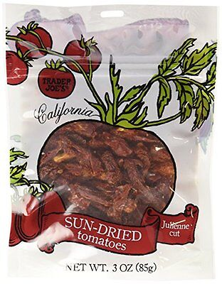 SALE! Trader Joe's delicious California sun-dried tomatoes - julienne cut, 85g