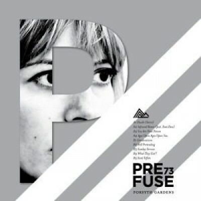 PREFUSE 73 Forsyth Gardens LP VINYL UK Temporary Residence 9 Track With Picture