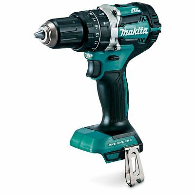 Brand New Makita Cordless Brushless Compact Hammer Drill Driver 18V Xph12 Li-Ion