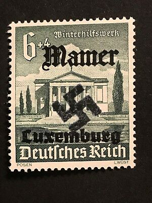 Germany LUXEMBOURG (MAMER) WWII-GERMAN OCCUPATION  6+4 Pfg. MNH Private Issue