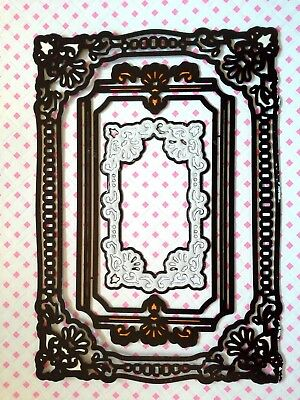 CRAFT CLEAROUT XCut A5 Ornate Frames die set
