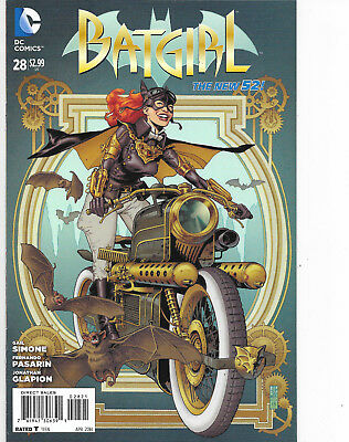 Batgirl #28 New 52 Variant Cover J.G. Jones DC Comics NM
