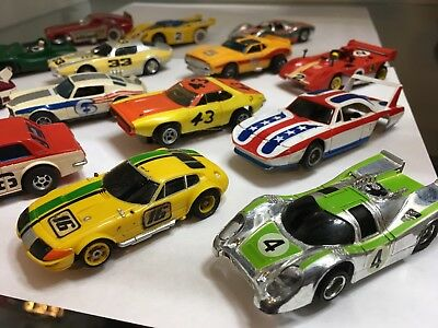 vintage ho slot car lot