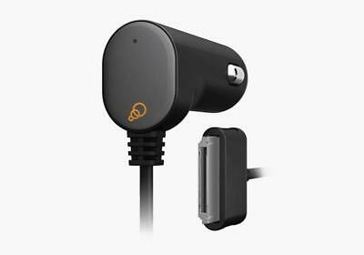 Car Charger with Integrated 30-Pin Cable