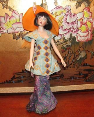 "Helen Kish Beautiful ""summer Electra"" Original Outfit 16"" 2004"