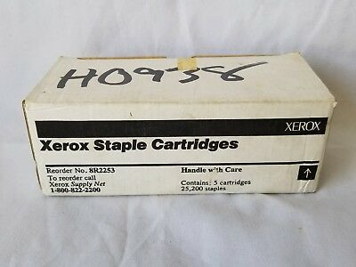 Original Xerox Staple cartridges 8R2253  5 Cartridges