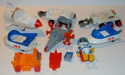 Vintage 1960's Eldon Large Billy Blastoff Action Figure Space Toy Large Lot