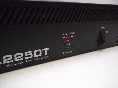 Electro-Voice Ev Pa2250T  2 X 250W Professional Power Amplifier