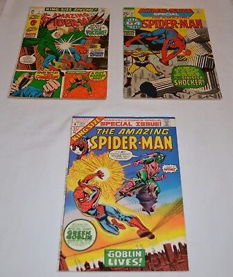 Lot Of 3 Amazing Spider-Man Annuals # 7, 8, 9