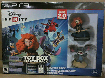 NEW Disney Infinity Toy Box Bundle Pack - PS3 PlayStation 3 - Toy Box Edition