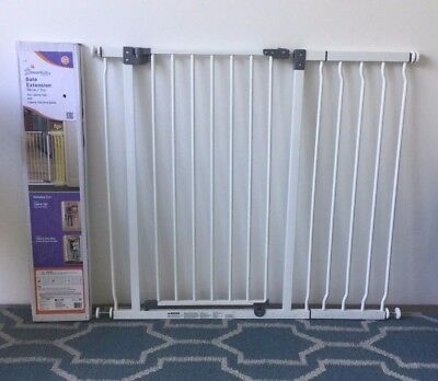 Dreambaby Extra Tall Baby Security Gates with extention pieces